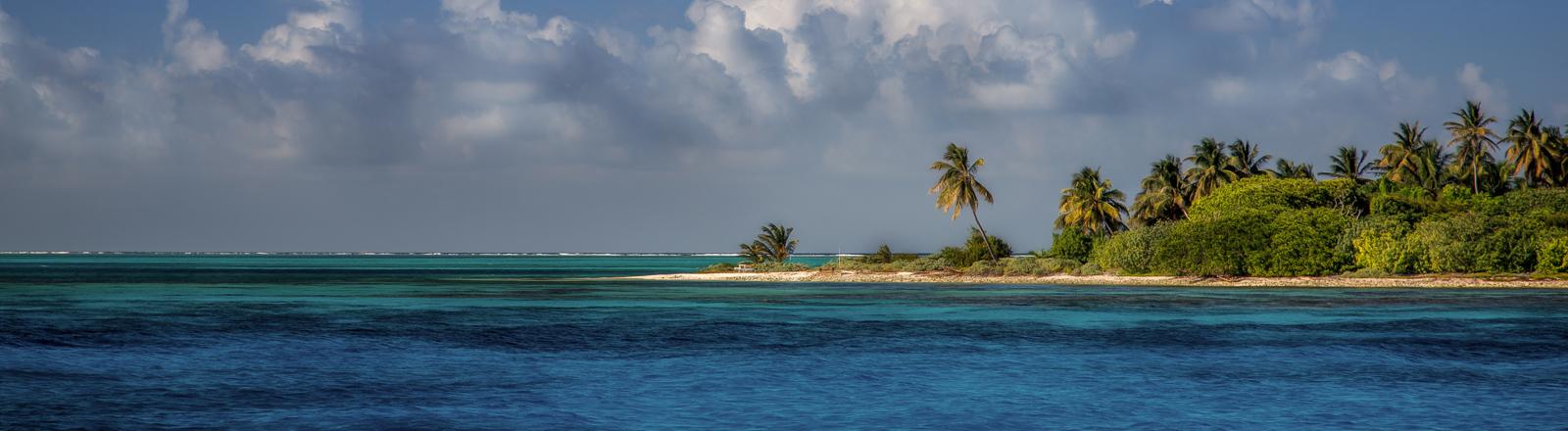 Eine Insel im Indischen Ozean