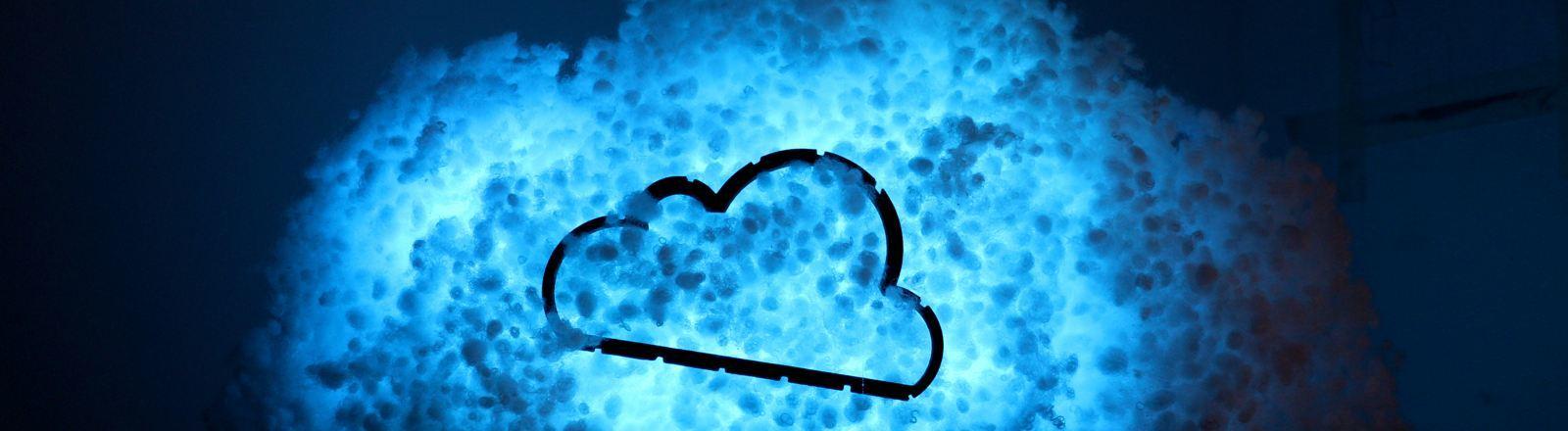 Eine Wolke aus Watte