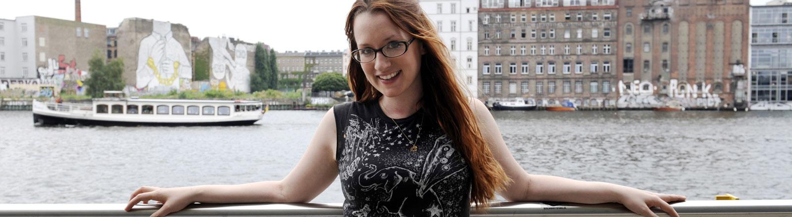 Musikerin Ingrid Michaelson in Berlin.