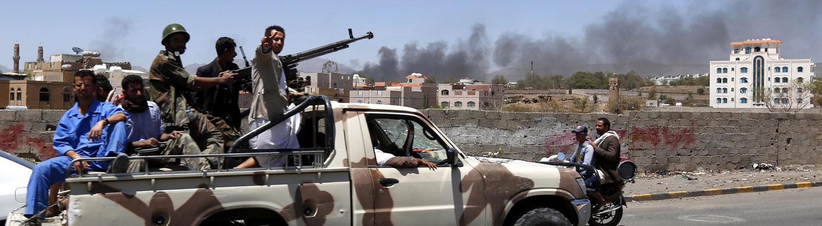 Im Jemen herrscht derzeit Waffenruhe, aber der Konflikt konnte noch nicht gelöst werden.