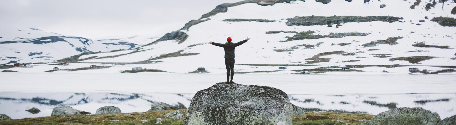 Wanderung durch Norwegen