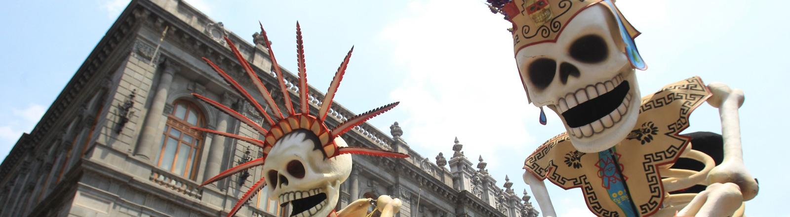 """""""Spectre""""-Drehort in Mexico-City El Día de los Muertos"""