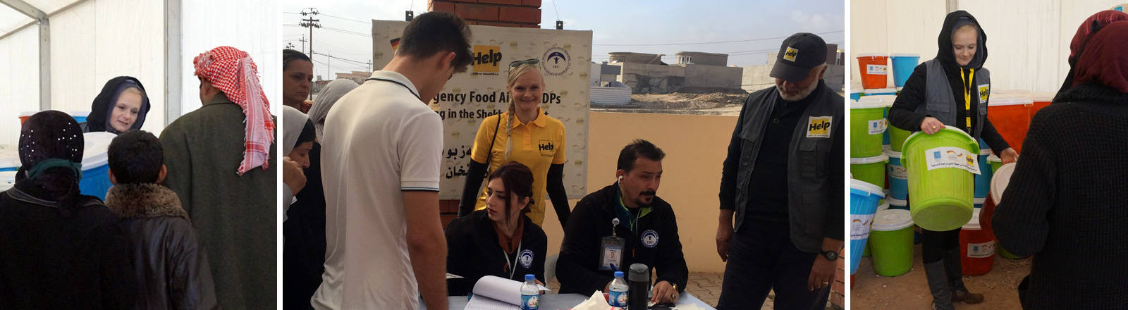 Lisa Hilleke leistet Flüchtlingshilfe in Nordirak.