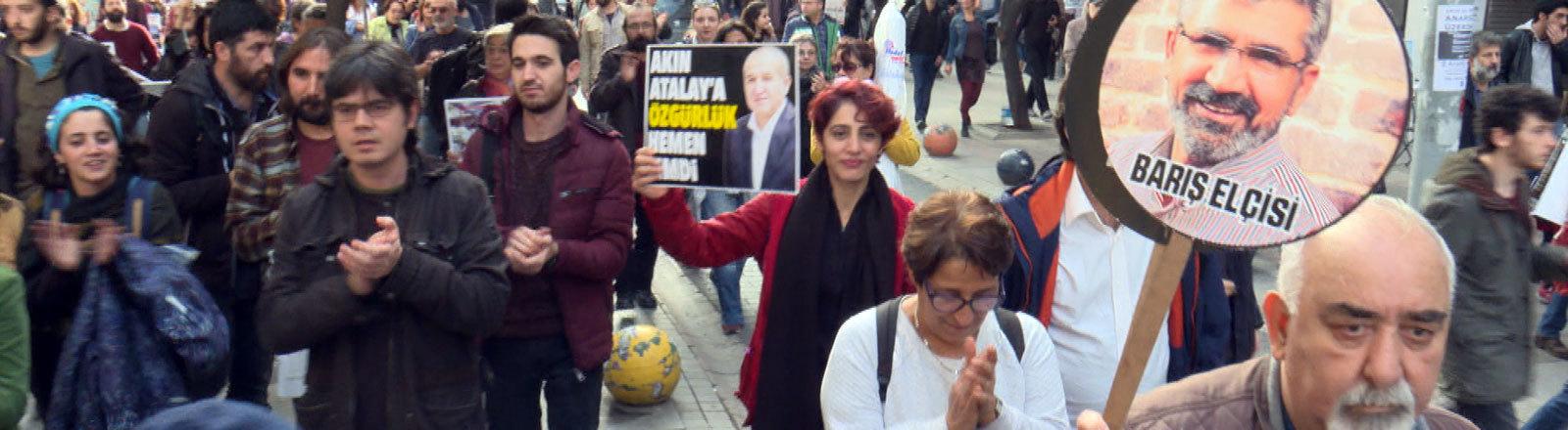 Akademiker protestieren in der Türkei