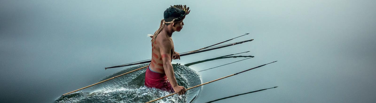 Ein Tenharim-Krieger