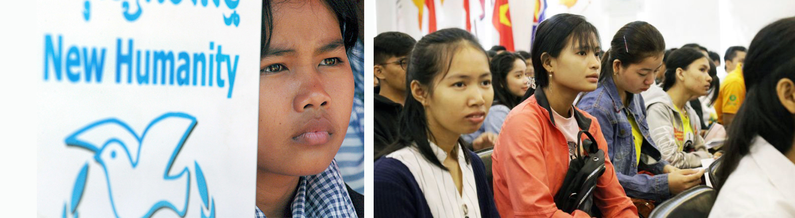 Junge Generation Kambodscha