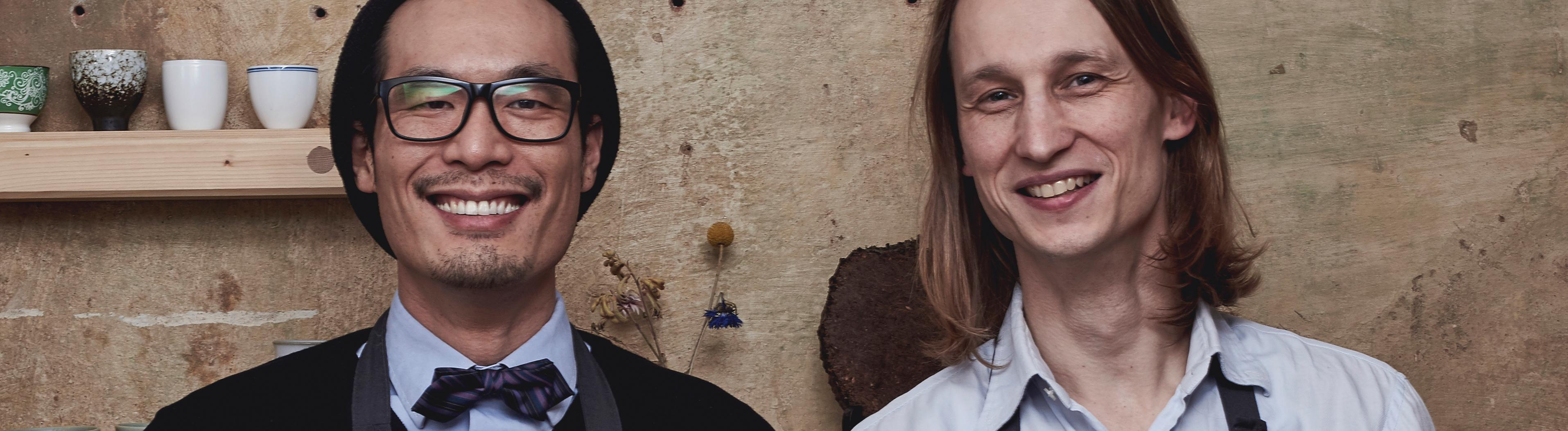 Jürgen Pitzschel und Stephan Suen
