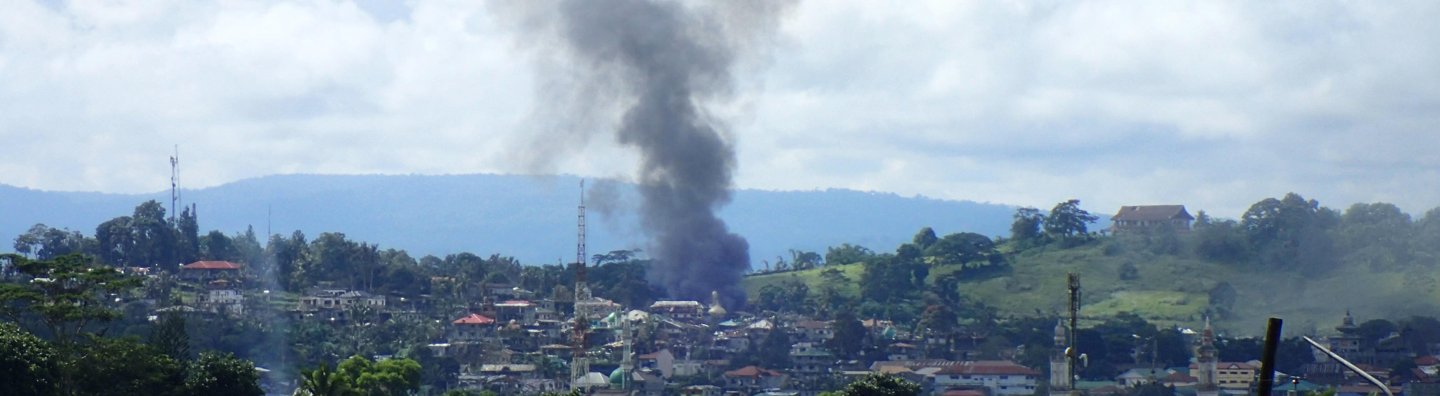 Marawai auf den Philippinen im Kampf gegen den IS