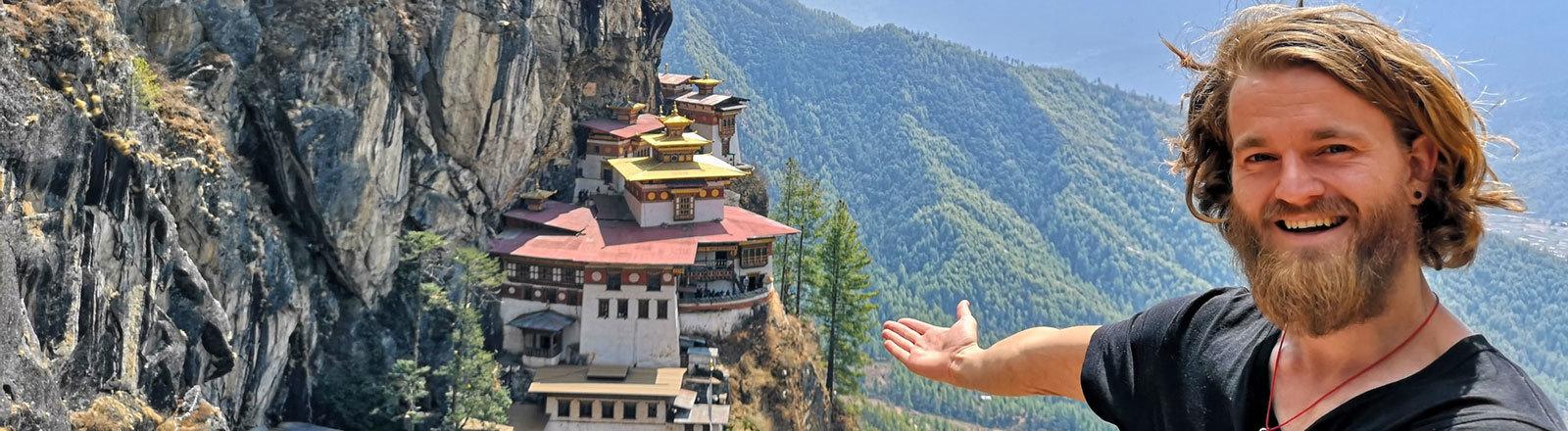 Jorn Bjorn Augestad in Bhutan.