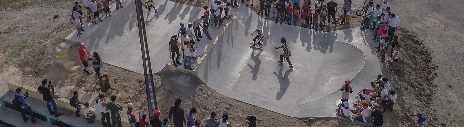Skatepark in der Dominikanischen Republik