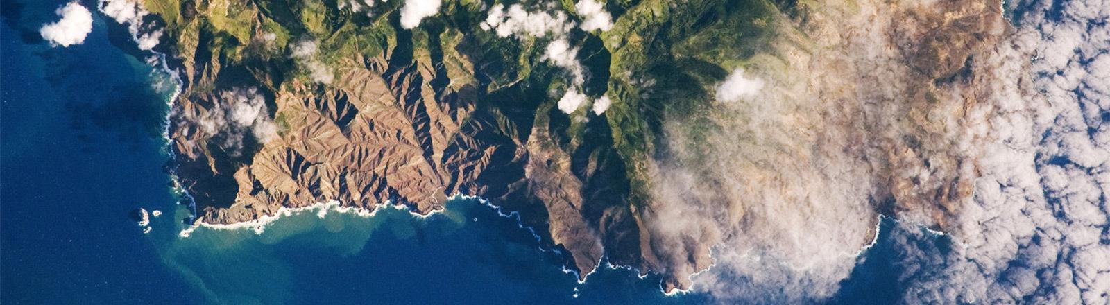 St. Helena von oben