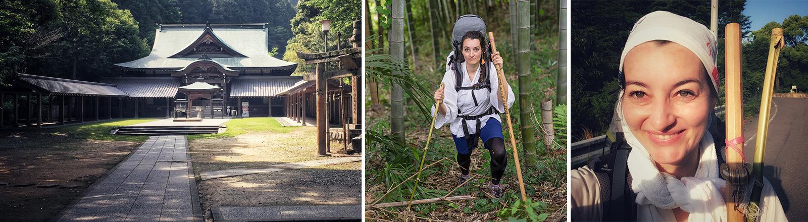 Lena Schnabl wandert den Shikoku-Pilgerweg