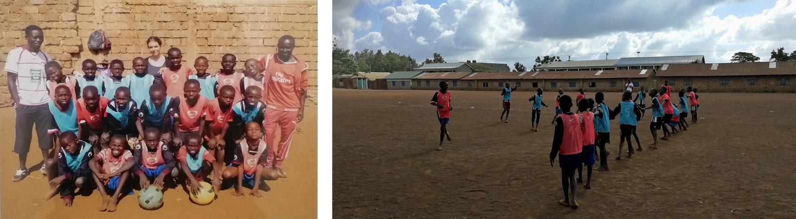 Als Ehnologin bei kenianischen Fußballern: Katharina Wilhelm