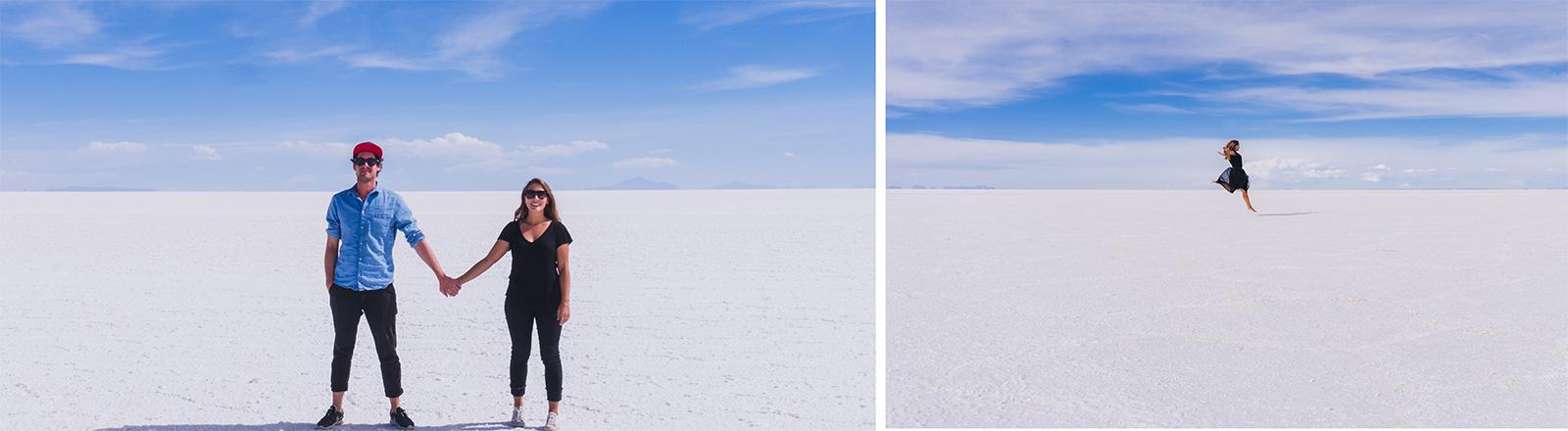 Steffi und Max in der Wüste