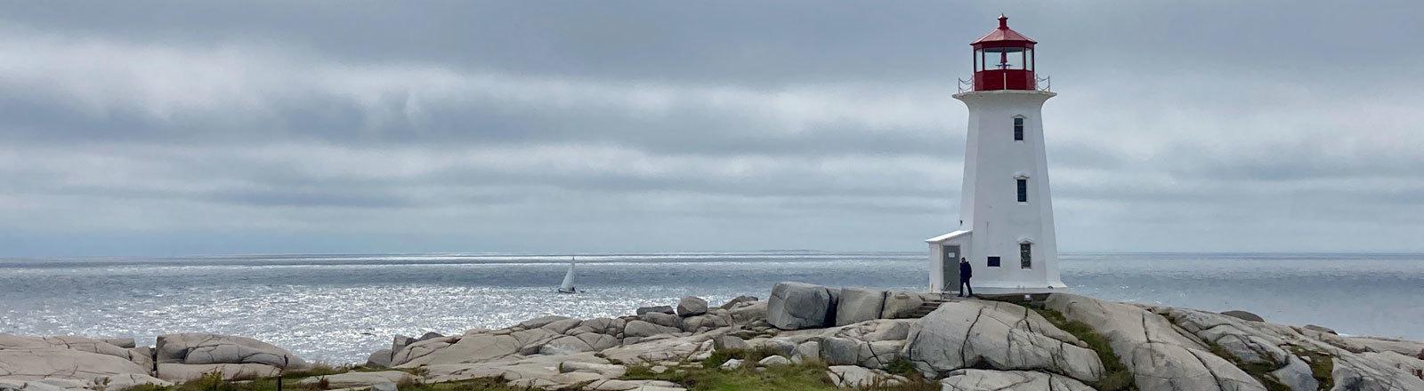 Peggy's Cove ist eine der wichtigsten touristischen Attraktionen in Nova Scotia