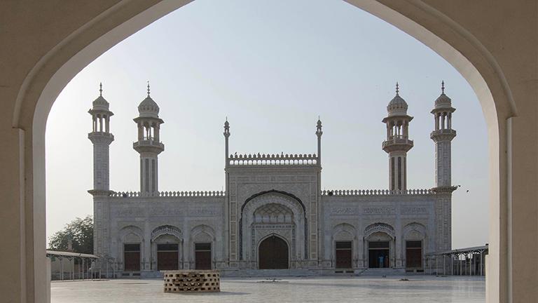 Moscheehoof in Pakistan