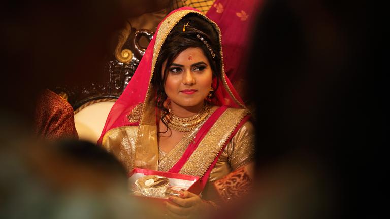 Eine indische Braut