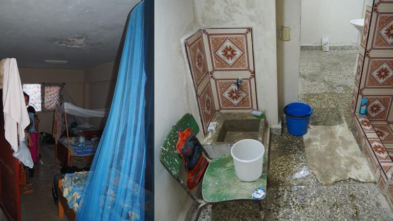 Wohnung und Dusche von Mara Neugebauer in Havanna