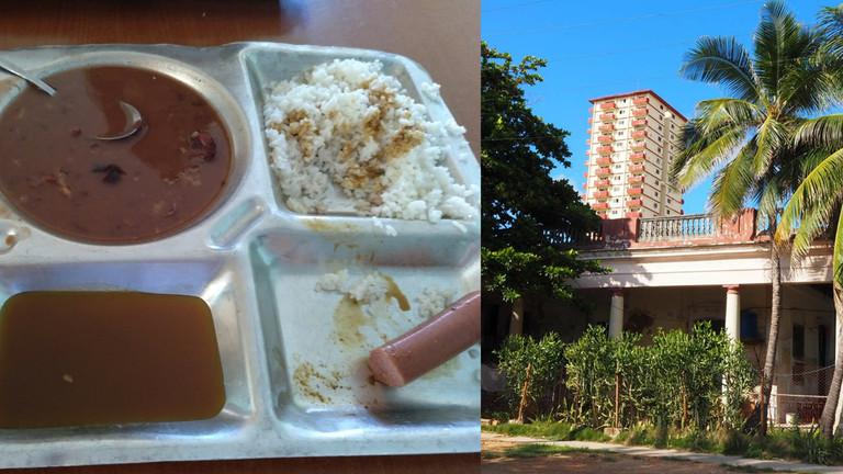 Essen im Studi-Wohnheim von Mara Neugebauer in Havanna