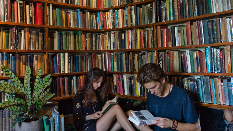 "Die Buchhandlung ""Shakespeare and Company"" in Paris"