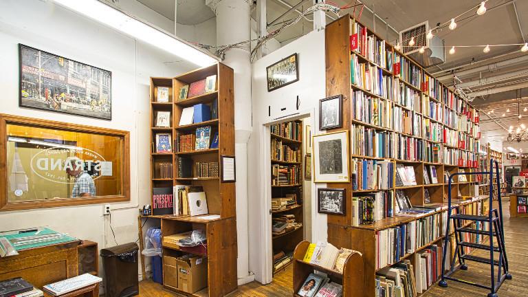 "Die Buchhandlung ""The Strand"" in New York City"