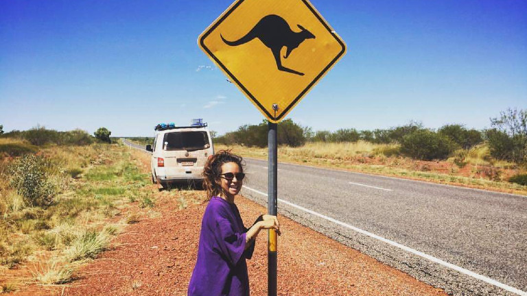 Nic Jordan down under in Australien