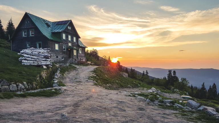 Sonne, Wald und Himmel: im polnischen Riesengebirge