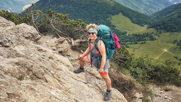 In den Bergen der Malá Fatra: Rebecca Maria Salentin unterwegs in Slowenien