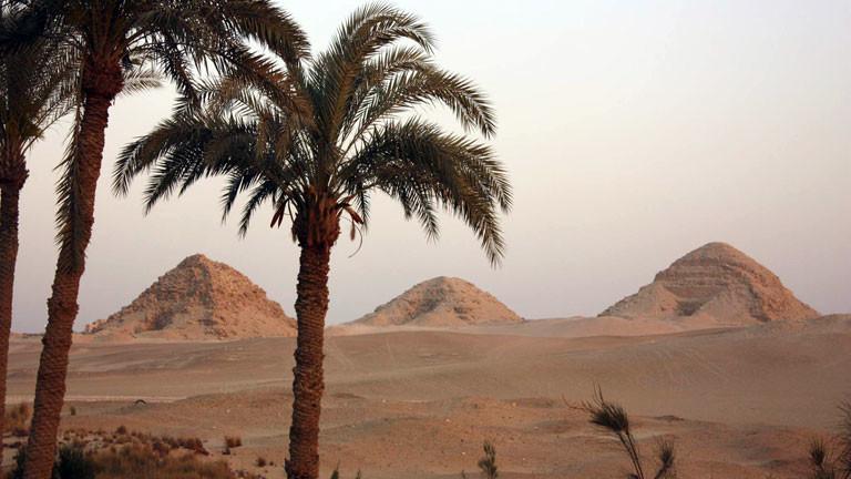 Die Pyramiden von Abusir