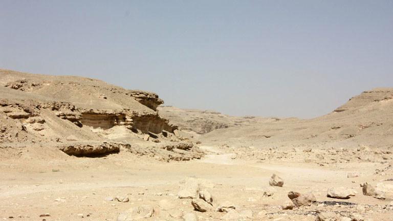 Die Wüste Wadi Degla