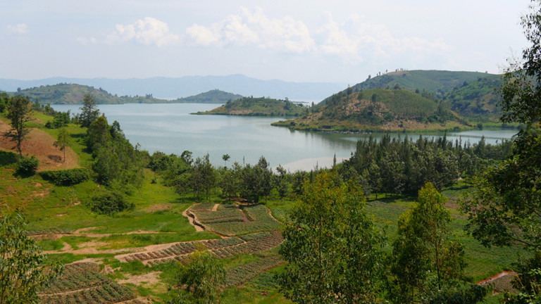 Landschaft in Ruanda