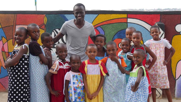 Straßenkinder in Kigali