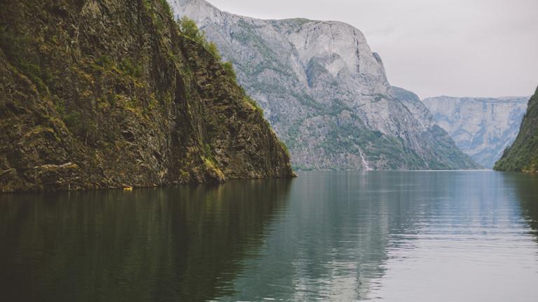 Aurlandsdal in Norwegen