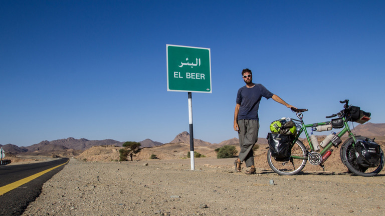 Dominik Schenke im Sudan