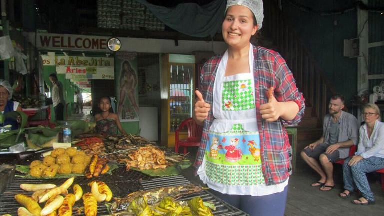 Anna Schwarz hat in Peru gekocht.