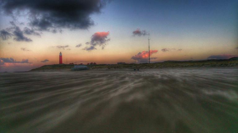 Insel Texel an Weihnachten