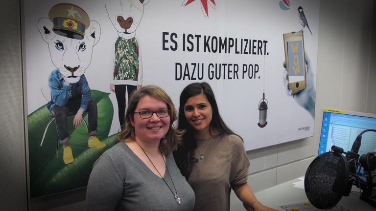 Reisebloggerin Janett Schindler und Donya Farahani