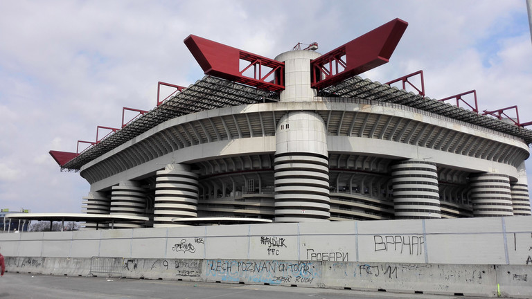San Siro Stadion in Mailand