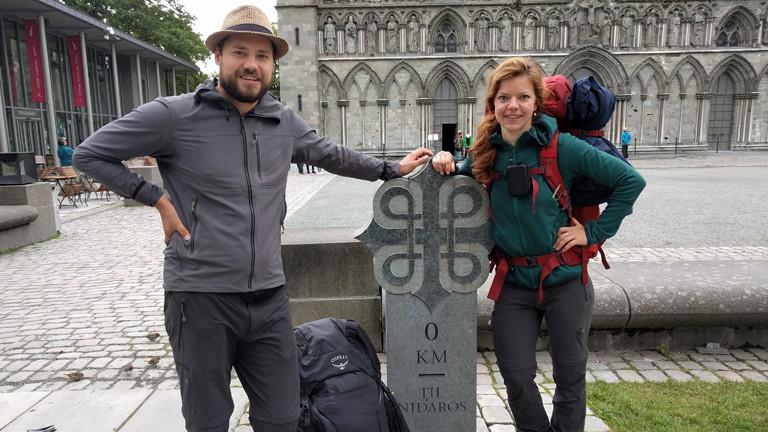 Pilgerreise von Svenja Trenkel und Witali Bytschkow.