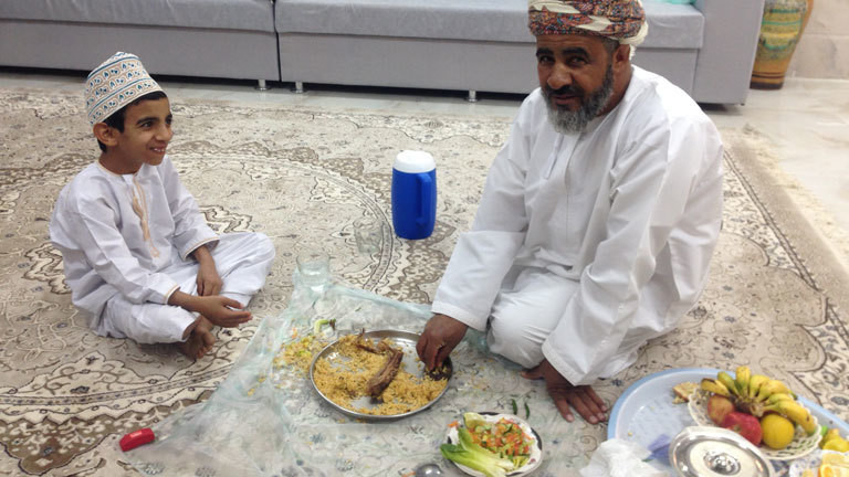 Gastfreundschaft in Oman