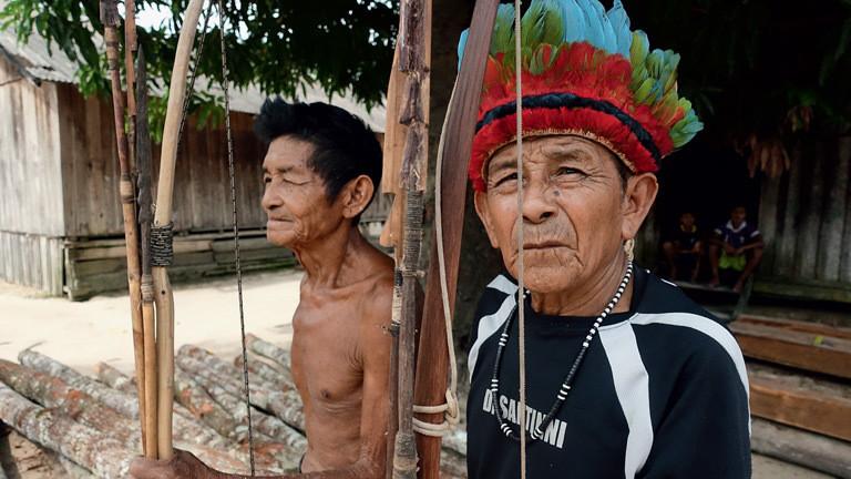 Zwei Tenharim-Krieger.