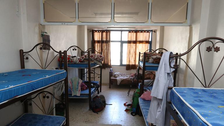 Das H2 Hostel ist spartanisch aber eine der wenigen Unterkünfte für Rucksackreisende in Hebron.