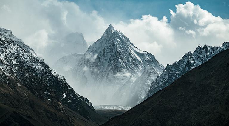 Gebirge in Zentralasien.