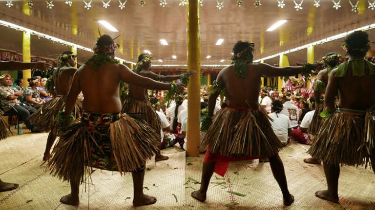 Jorn Bjorn Augestad im Inselstaat Tuvalu