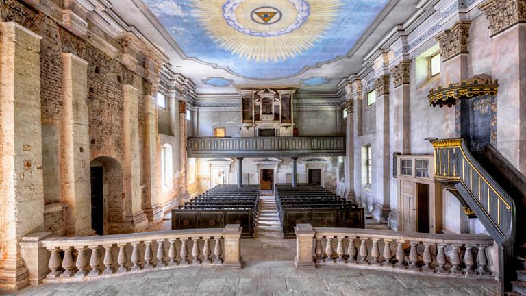 Eine nicht mehr genutzte Kirche