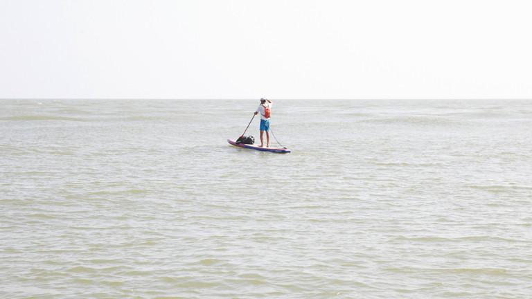 SUP im Schwarzen Meer