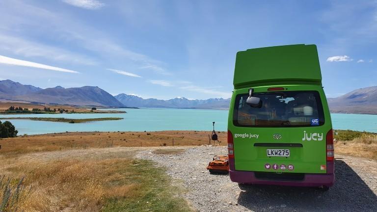 Mit dem Camper durch Neuseeland.
