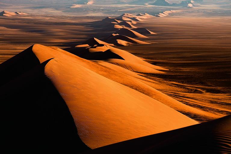 Die Sahara im Januar 2014