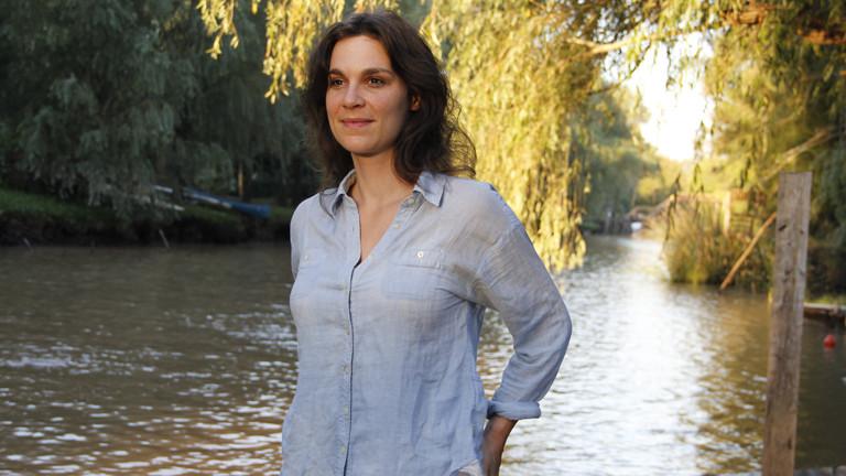 Anne Herrberg im Tigredelta