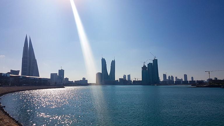 Skyline von Bahrain